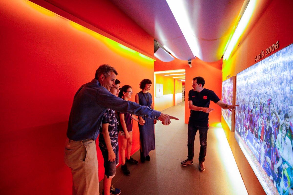 Camp Nou museo del Barça