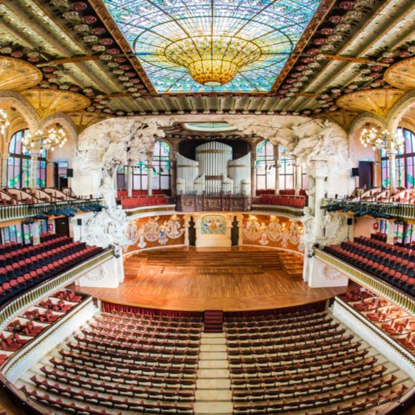 Palau de la Música Catalana, la Sala Concerti