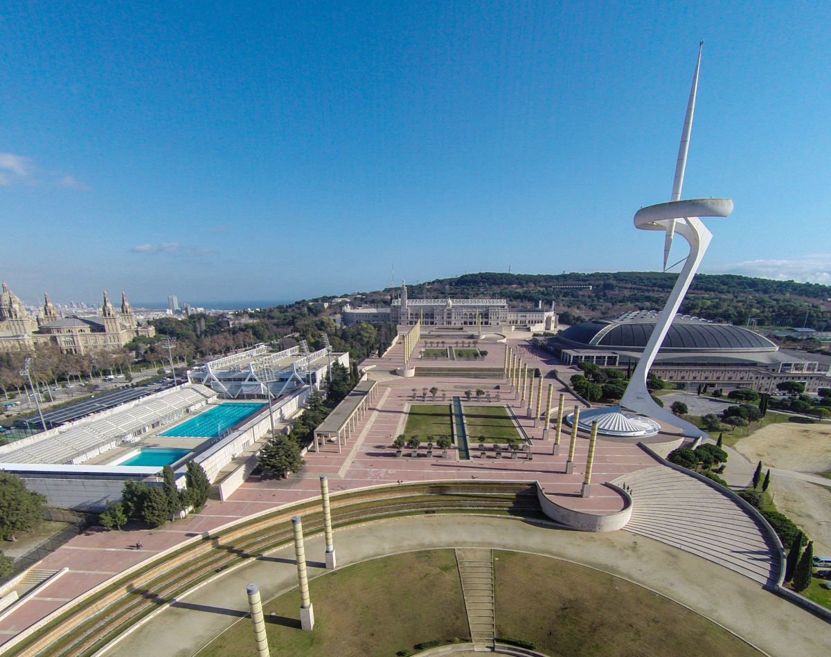 Anello olimpico del Montjuïc