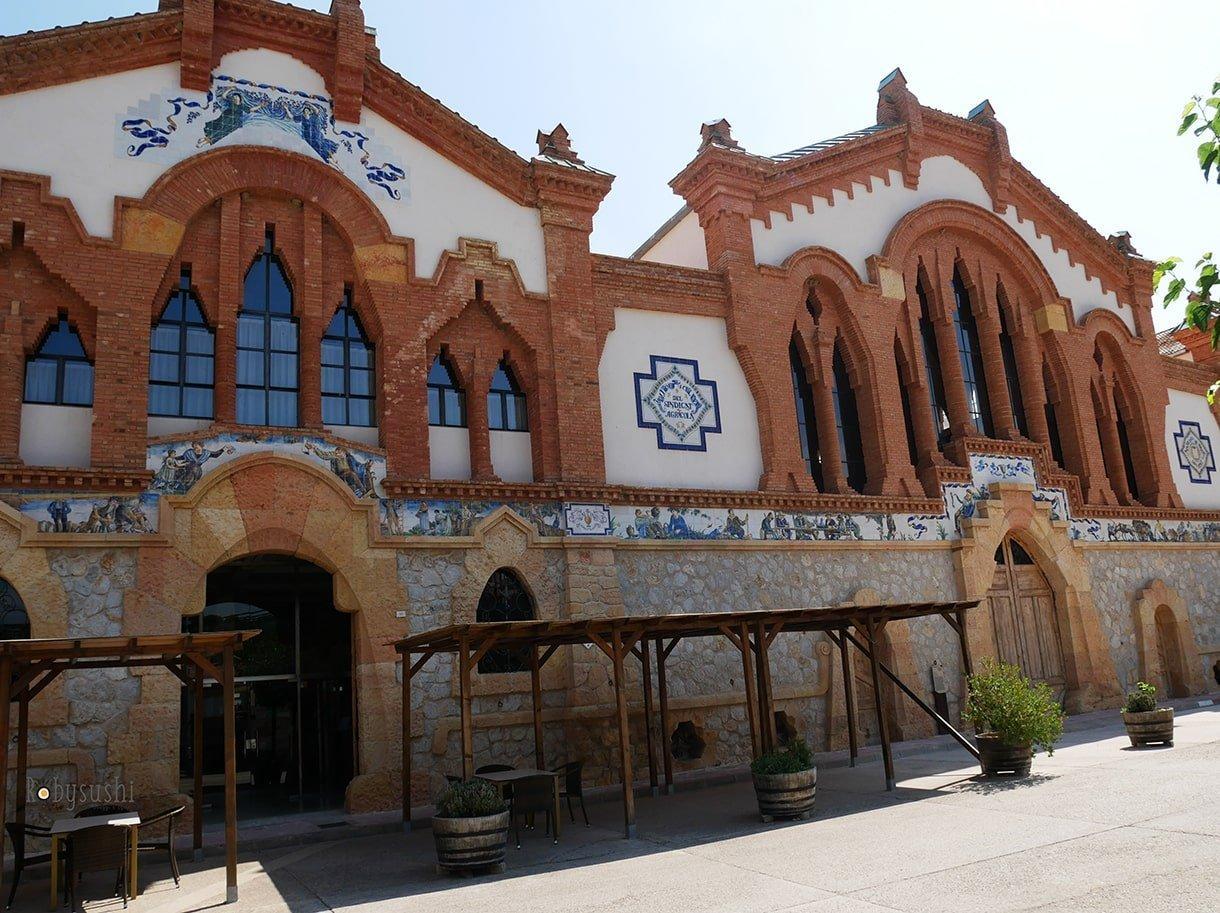 Cattedrale del vino, Terres de l'Ebre