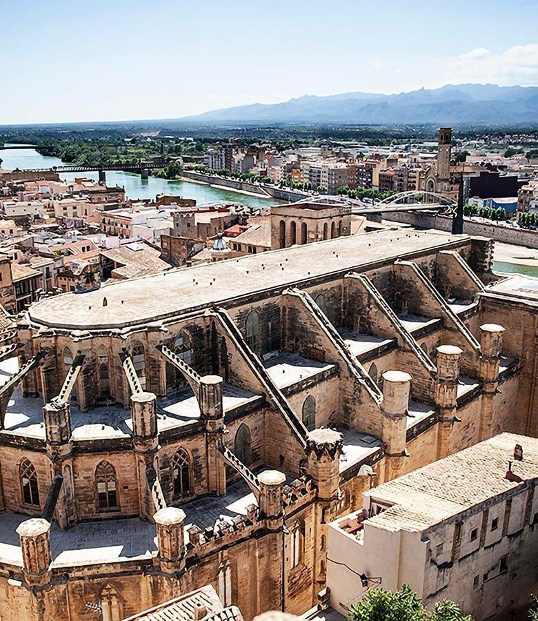 Veduta di Tortosa, Catalunya del Sud