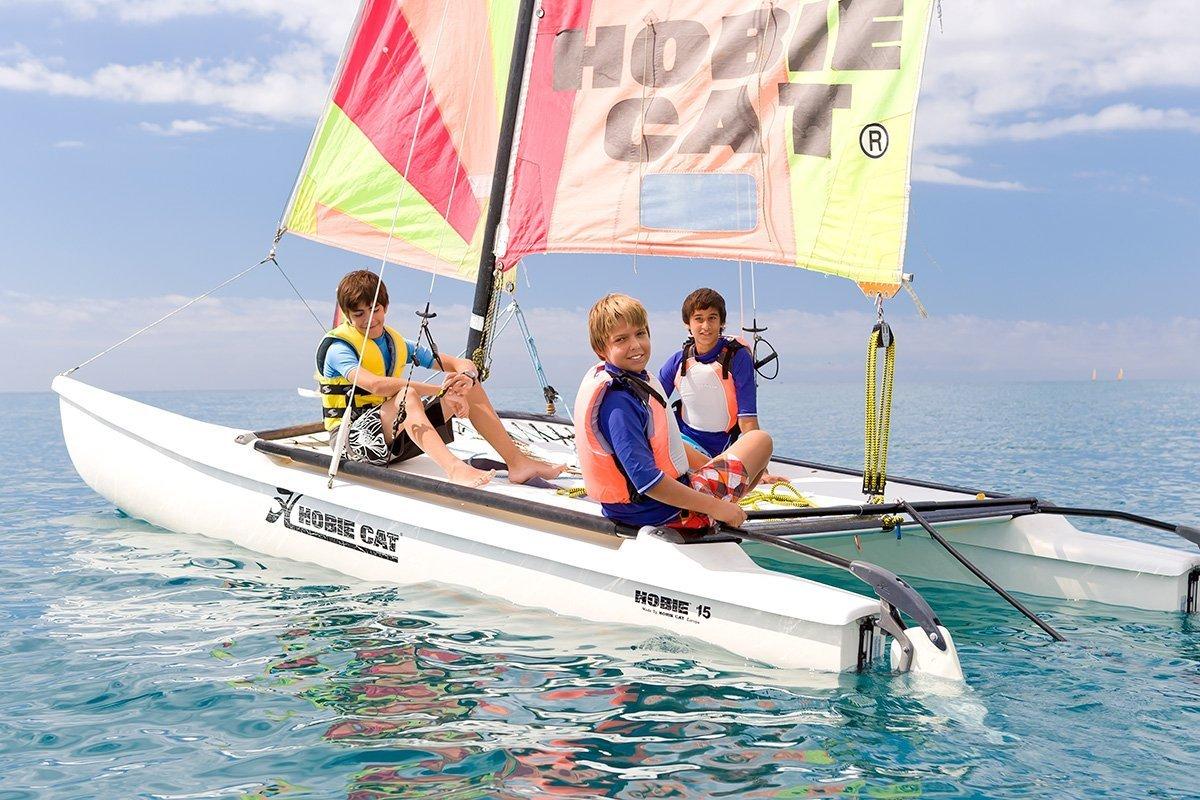 Catalunya in famiglia, scuola di vela
