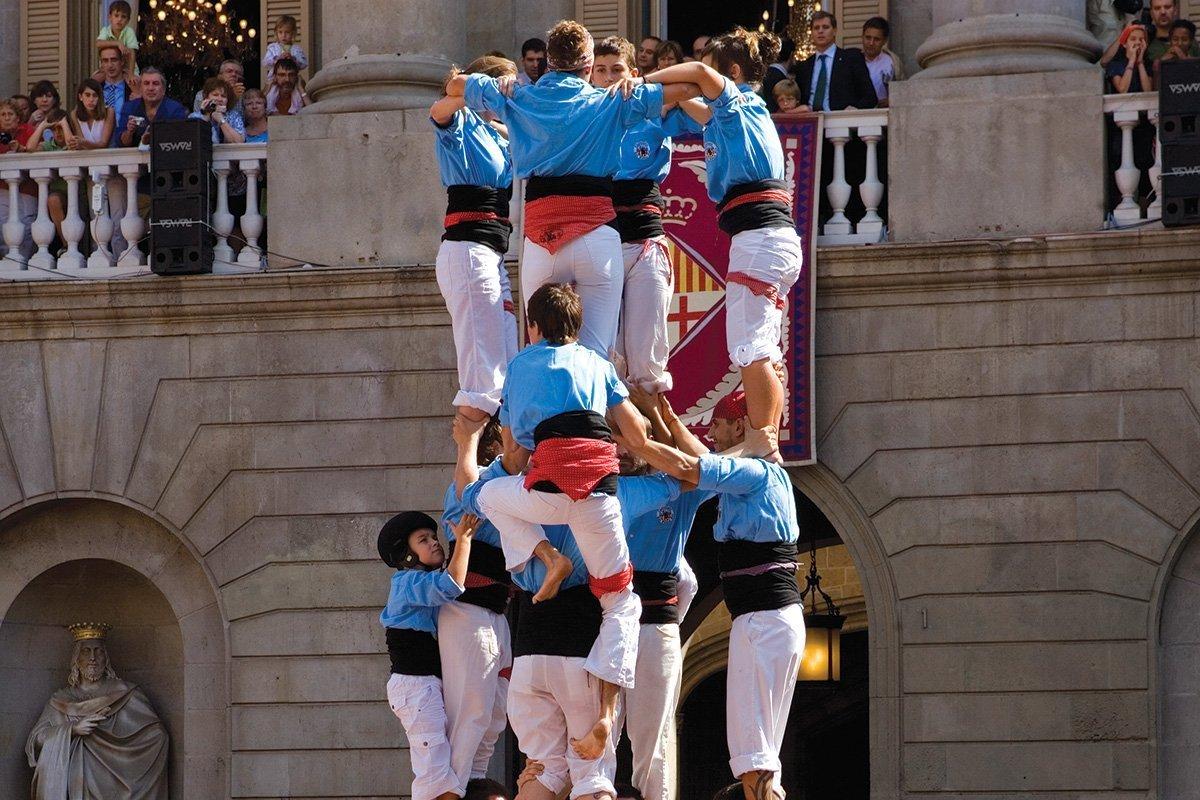 Tradizioni catalane: i Castellers