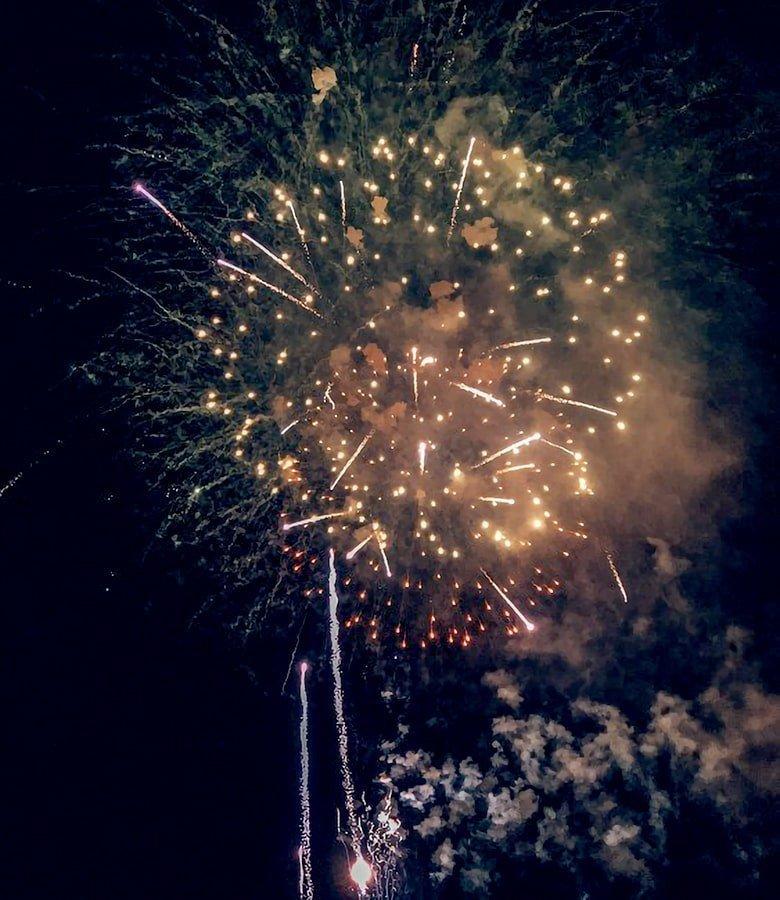 Catalunya con bambini: fuochi d'artificio