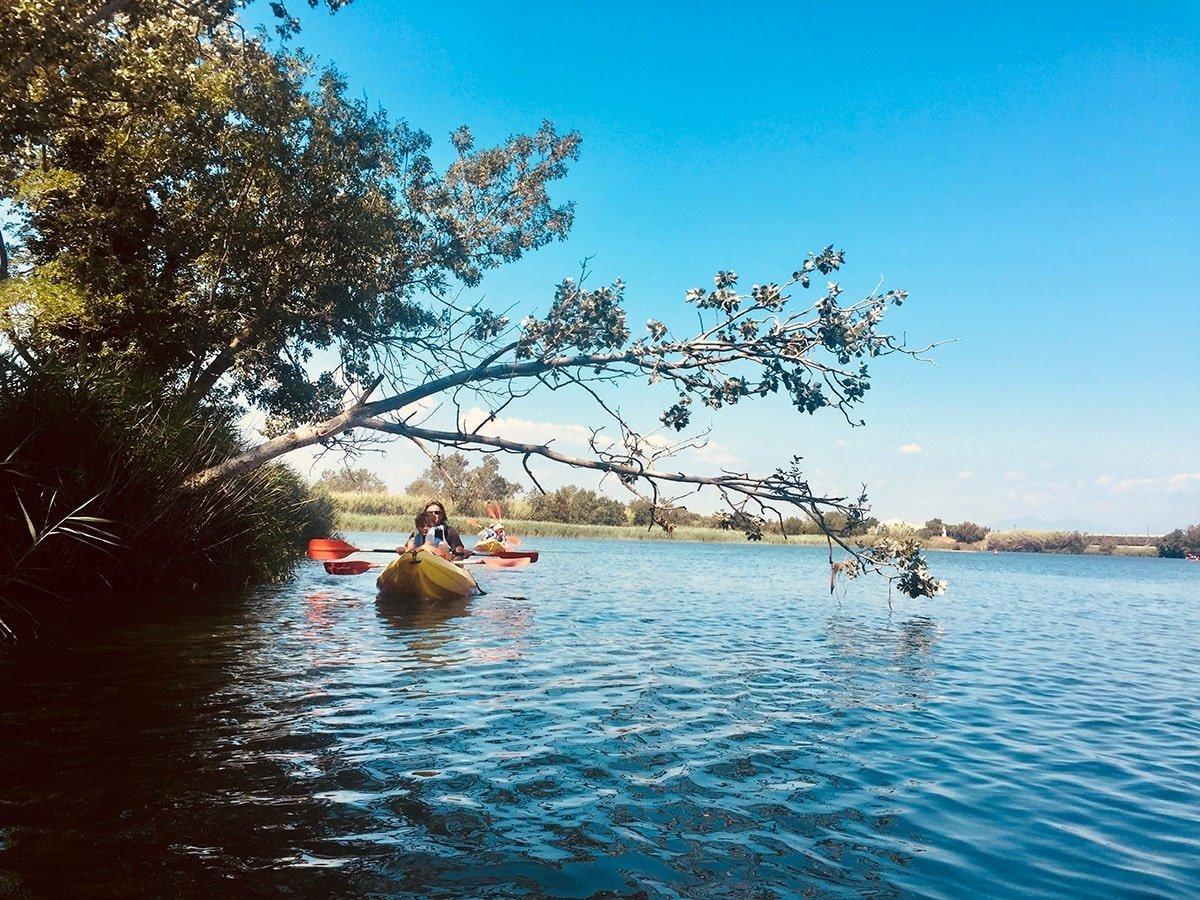 Kayak sul fiume Fluvià