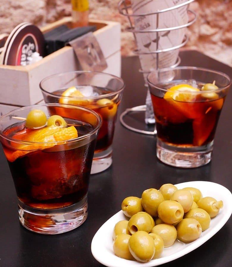Vermut aperitivo catalano