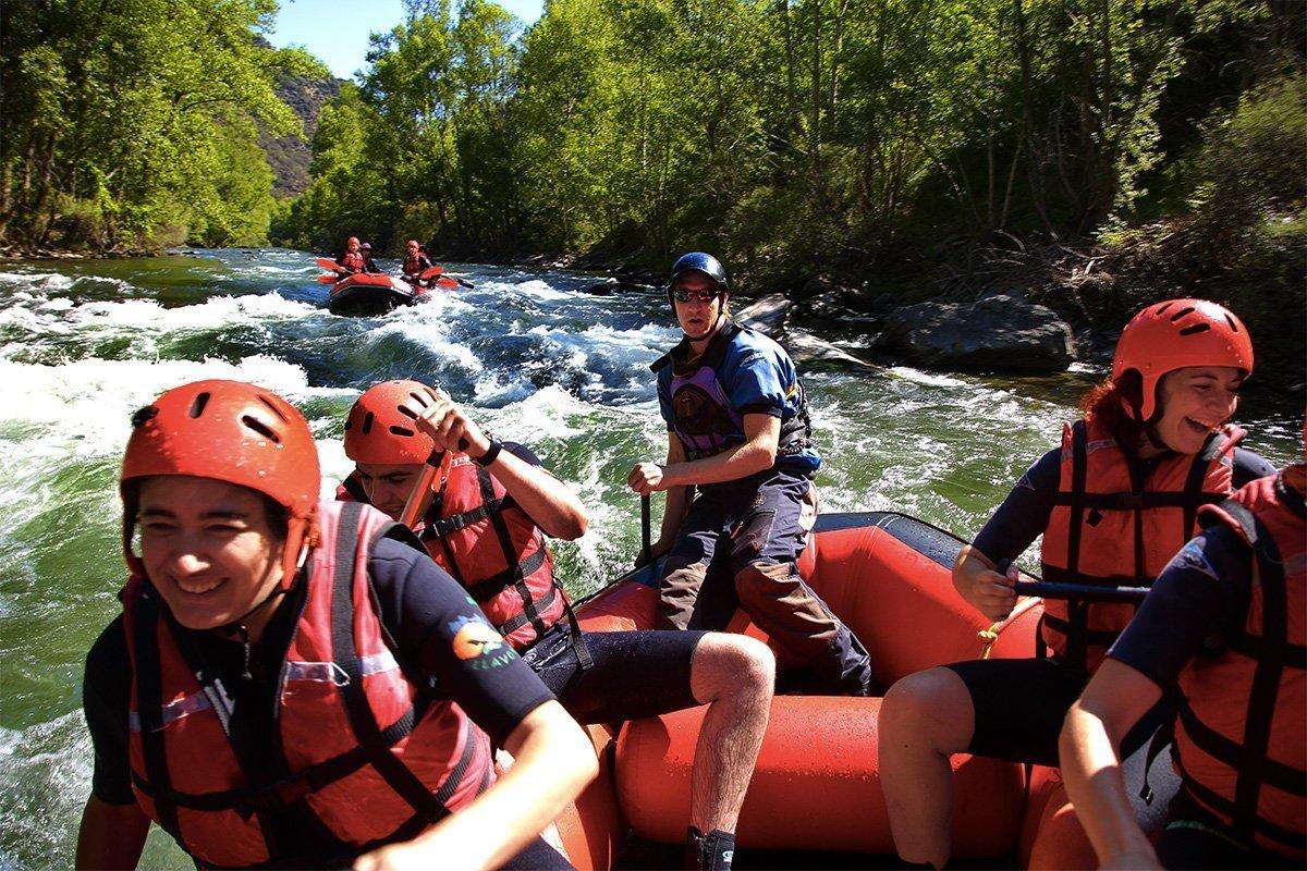 Turismo attivo rafting Noguera Pallaresa