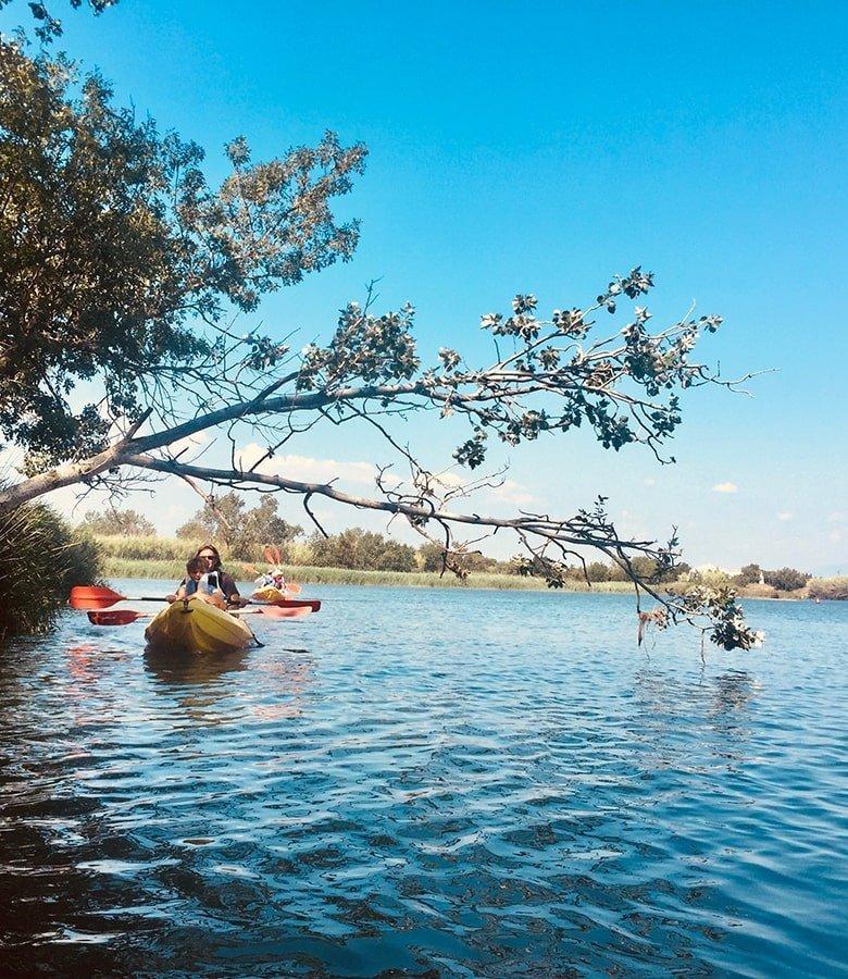 Kayak, Catalunya con bambini