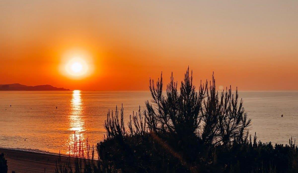 Catalunya tramonto