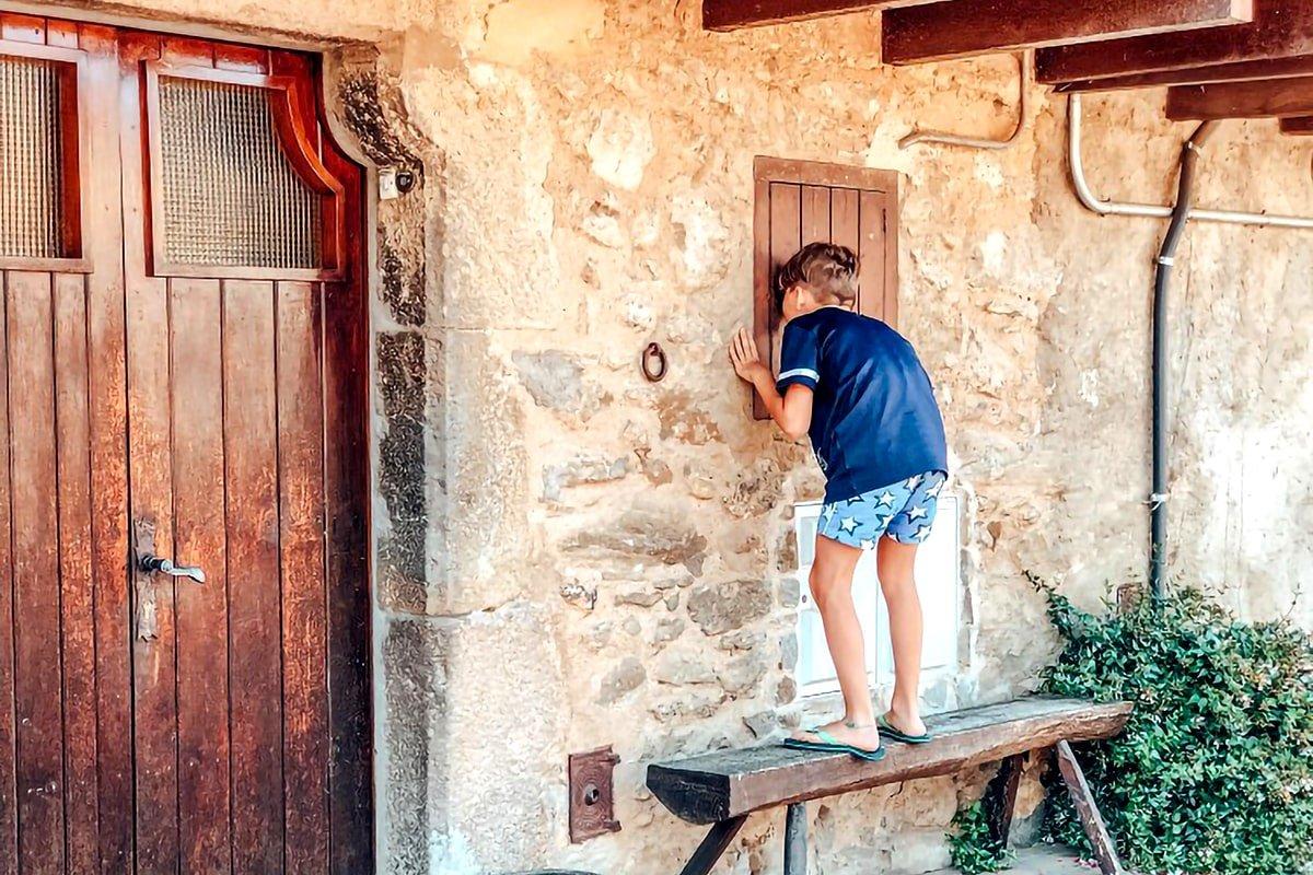 Catalunya con bambini: un villaggio della Vall d'En Bas