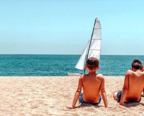 Relax sulla spiaggia di Lloret de Mar